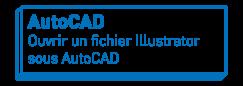 AutoCAD   Ouvrir un fichier Illustrator sous AutoCAD